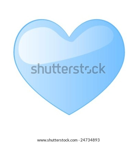 Heart Shaped vector illustration for valentines day - stock vector