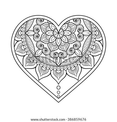heart motif stock images royalty free images vectors shutterstock. Black Bedroom Furniture Sets. Home Design Ideas
