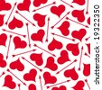 Hearts and arrows. - stock vector
