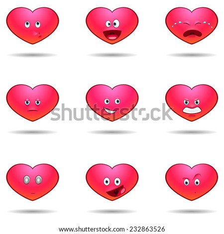 hearts emotions