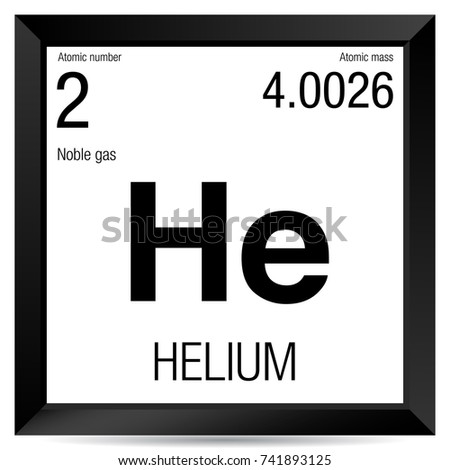 Helium symbol element number 2 periodic stock vector 741893125 helium symbol element number 2 of the periodic table of the elements chemistry urtaz Gallery