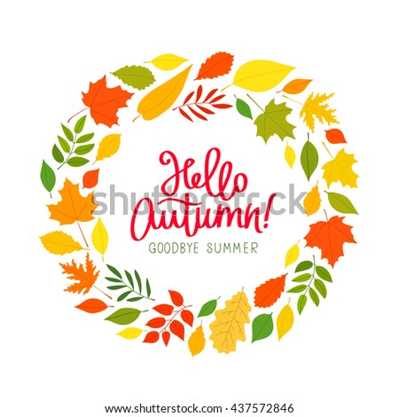 Goodbye Summer Stock Photos, Royalty-Free Images & Vectors - Shutterstock