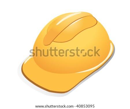 helmet vector - stock vector