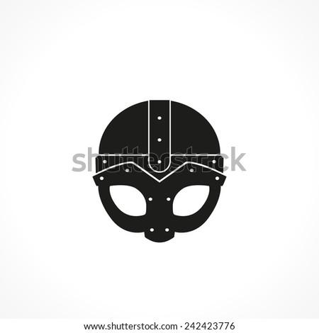 helmet-vector icon - stock vector