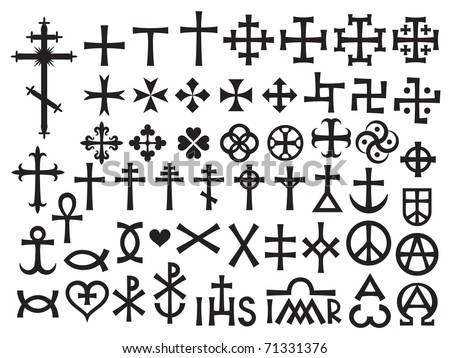 Christian symbols stock images royalty free images - Symbole de protection ...