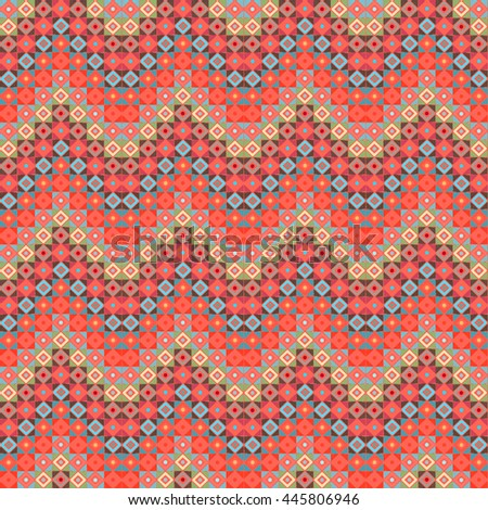 Herringbone seamless pattern. Chevron print, patchwork, carpet, rug, abstract geometric ornament. Background texture, medallion, tile, waves, zig zag shapes