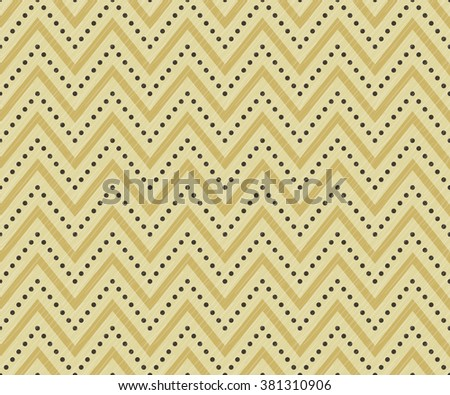 Herringbone seamless pattern with zigzags. Can be used for wallpapers, pattern fills, website backgrounds, book design, textile prints etc. EPS10 vector illustration includes Pattern Swatches. - stock vector