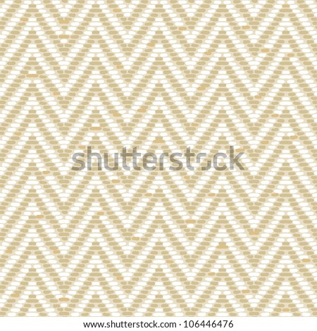 Herringbone Tweed pattern in earth tones repeats seamlessly. - stock vector