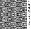 Hexagons seamless texture. Geometric pattern. Vector art. - stock vector