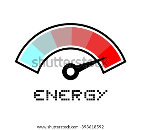 high energy symbol - stock vector