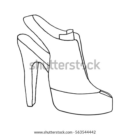 Sketches Of High Heel Shoes on goodman logo