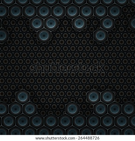 High-tech style background - stock vector