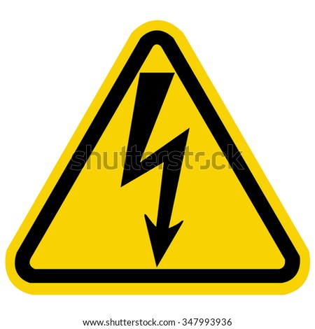 High Voltage Sign.