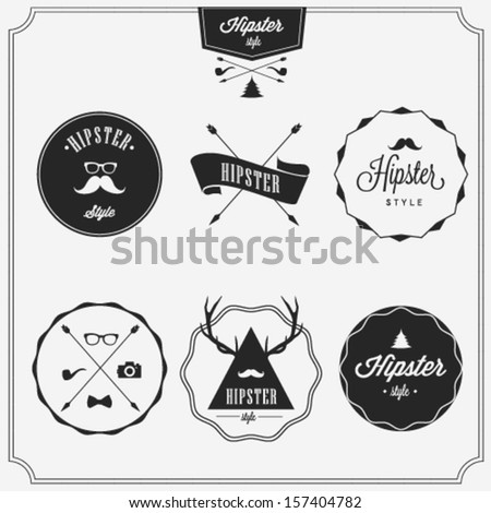 Hipster style  - stock vector