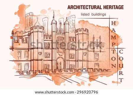 Tudor stock photos royalty free images vectors for Basic architectural styles