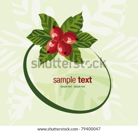 holiday background easy to modify - stock vector