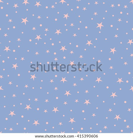 Holiday background, seamless pattern with stars, star pattern, star decorations. Vector illustration. Vector illustration. - stock vector