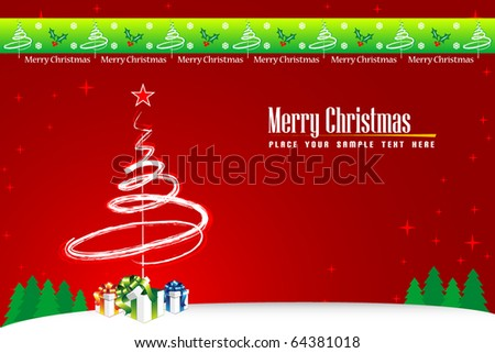 Holiday background with place for your text - stock vector