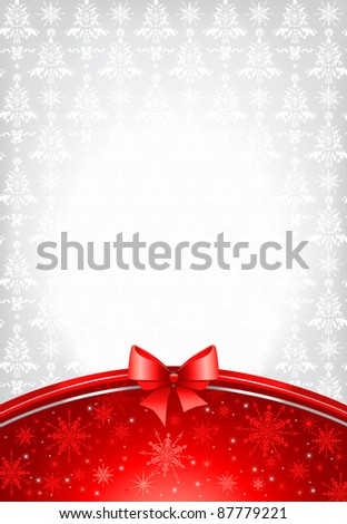 Holiday background with space for text - stock vector
