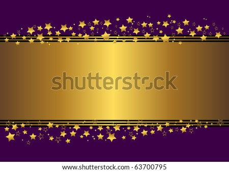 holiday background with stars. vector illustration.