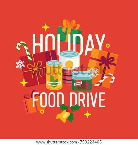 christmas food drive poster - photo #9