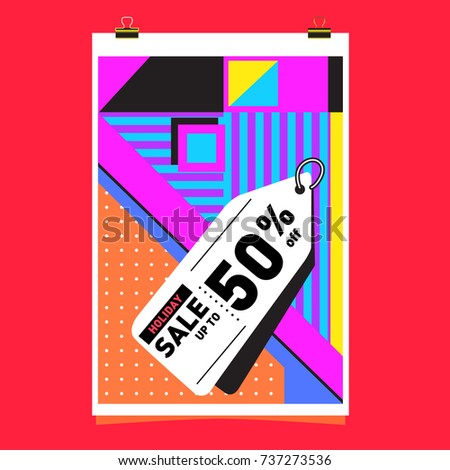 Electronic Music Poster Modern Club Party Stock Vector 694889950 Shutterstock