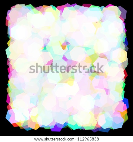 Holidays Frame Magic Light Vector Eps 10 Stock Vector 112965838 ...