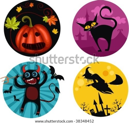 holloween icons