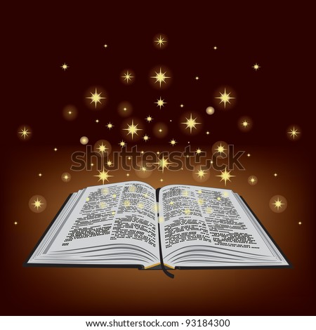 Holy Bible. - stock vector