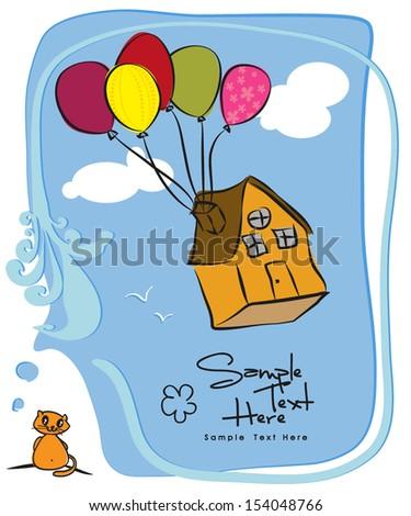 Home / Balloons - stock vector