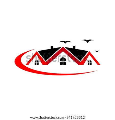Home Building Logo Template