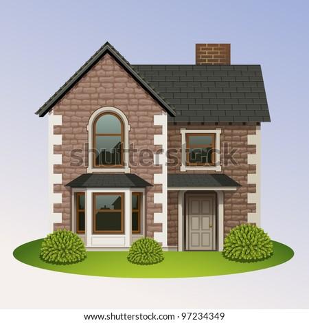 home icon-4 - stock vector