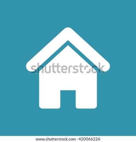 Home Icon. Eps-10. - stock vector