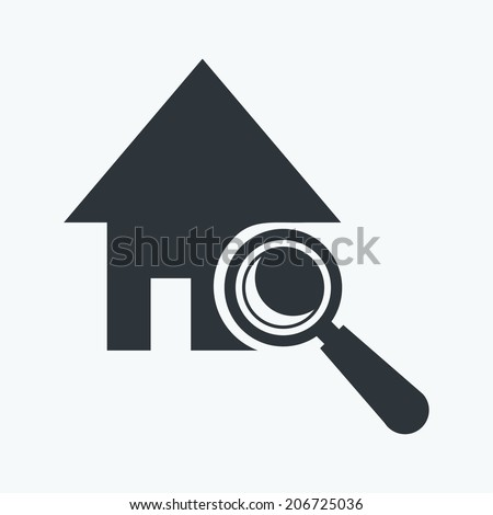 Home inspection - stock vector