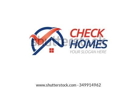 Home Logo - stock vector