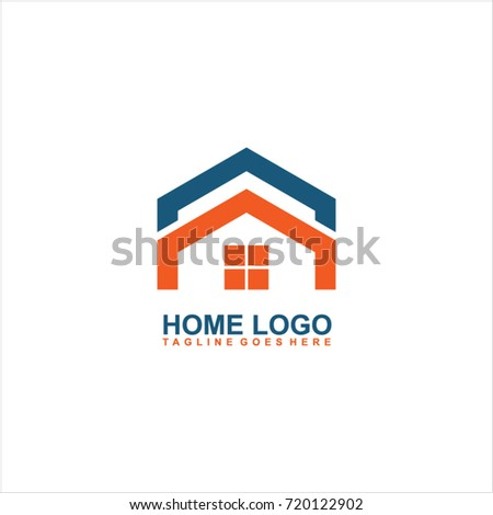 Home Logo Design Vector Stock Vector Shutterstock