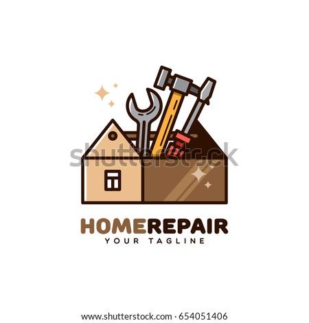 Handyman-logo Stock Im...