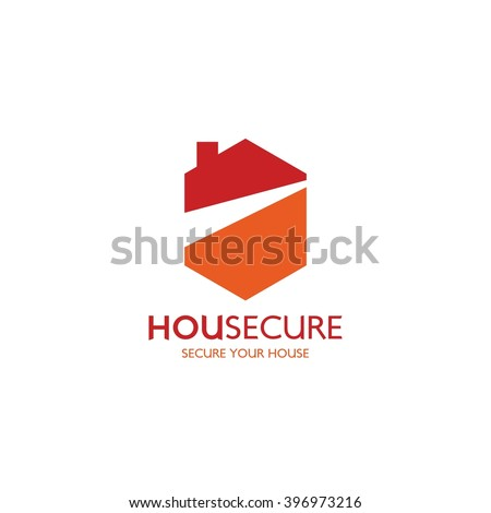 Red House Logo Design Real Estateproperty Stock Vector 269289809