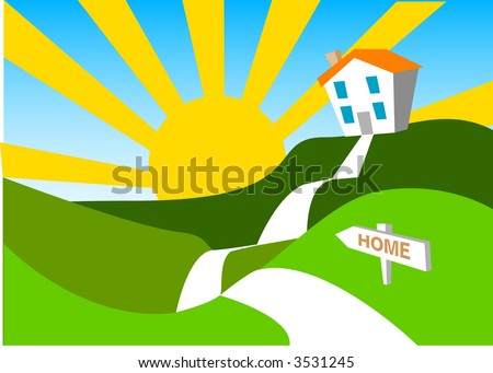 Home Sweet H..... - stock vector