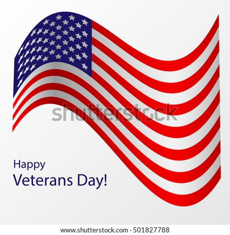 Honoring all who served happy veterans stock photo photo vector happy veterans day greeting card flag for veterans day m4hsunfo