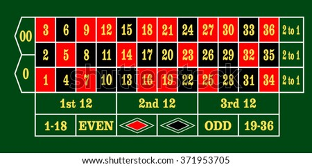 American roulette layout table poker board game rules