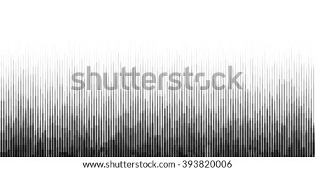 Horizontal Seamless Gradient Background with Particles Noise - stock vector