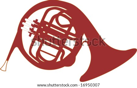 Horn Vector - stock vector