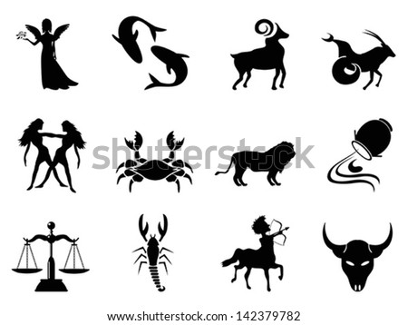 Horoscope symbol - stock vector