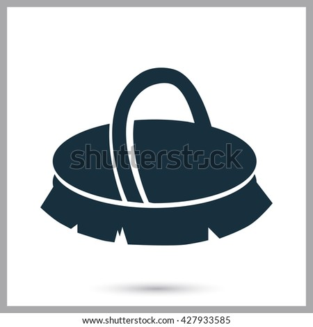 horse brush icon on background stock vector 427933585 shutterstock rh shutterstock com Fancy Horse Riding Clip Art Boots and Helmet Clip Art