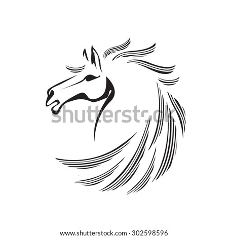 Vector Black White Freestyle Wrestling Illustration 294515651 also 75435362481765099 furthermore Pink Pig Cartoon Show furthermore Horse Silhouette Clip Art furthermore Running Horse Outline. on unicorn head clip art black and white