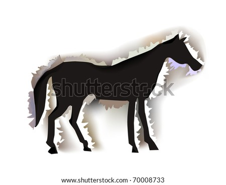 "horse ""paper collection"""