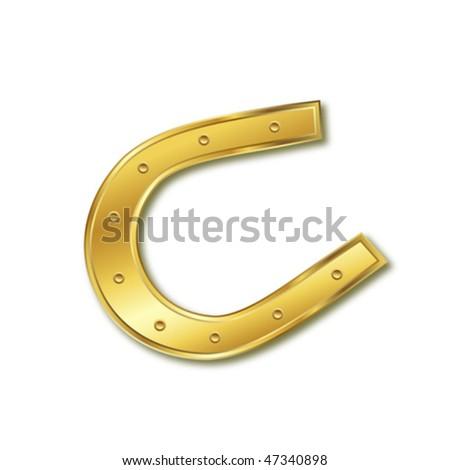 horseshoe - stock vector