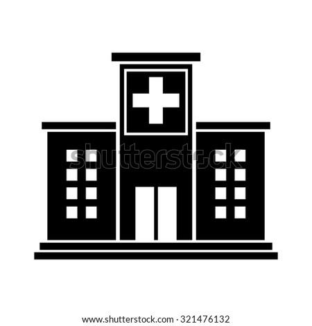 Hospital Icon Stock Im...