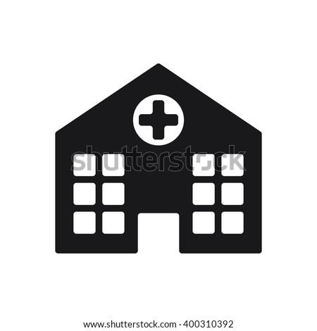 Hospital Icon, Hospital Icon Eps10, Hospital Icon Vector, Hospital Icon Eps, Hospital Icon Jpg, Hospital Icon Picture, Hospital Icon Flat, Hospital Icon App, Hospital Icon Web, Hospital Icon Art - stock vector